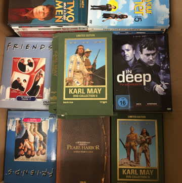 Über 70 DVD Serien