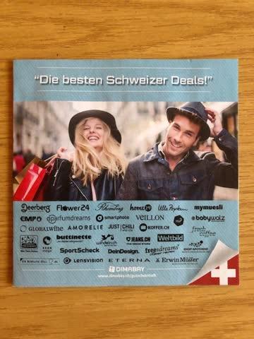 Gutscheinheft - Die besten Schweizer Deals