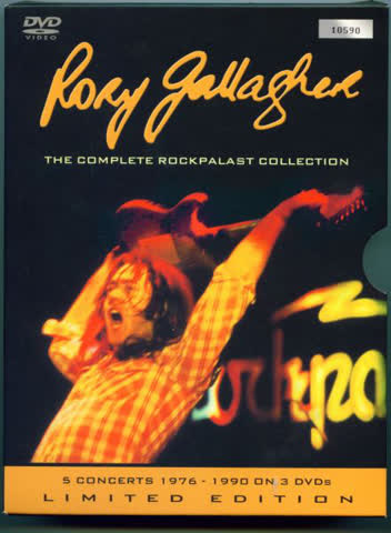 Rory Gallagher - Rockpalast Complete Recordings (3 DVDs)