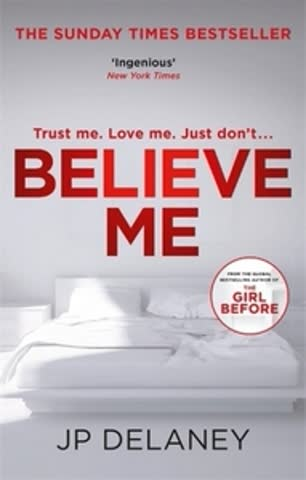 Trust me. Love me. Just don't believe me