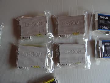 EPSON Toner, verschiedene Farben - total 11 Stück