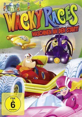Wacky Races: Maschinen an den Start!