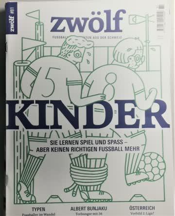 Zwölf das Schweizer Fussball Magazin #81 November 2020