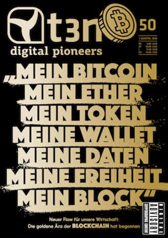 t3n - digital pioneers, Ausgabe 50, 1. Quartal 2018