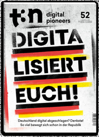 t3n - digital pioneers, Ausgabe 52, 3. Quartal 2018