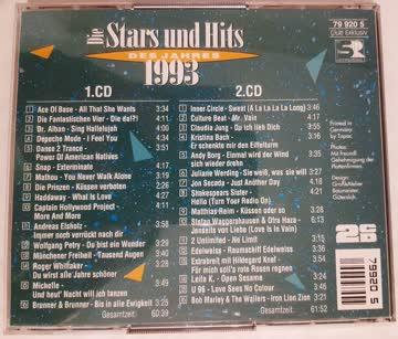 Die Stars und Hits des Jahres 1993