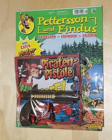 Pettersson und Findus, Magazin mit Piraten-Pistole