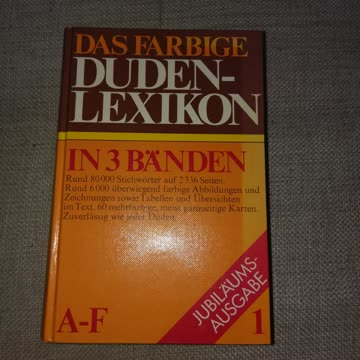 Duden Lexikon A-F