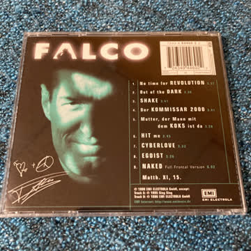 Falco - Out Of The Dark (Into The Light) (Pop)