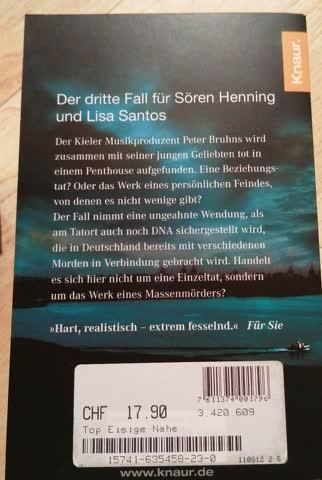 Eisige Nähe / Sören Henning Bd.3