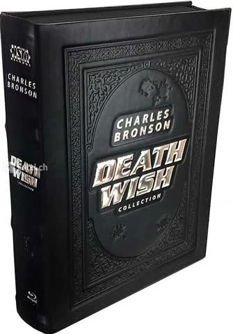 Death Wish Collection - 1-5 (Leatherbook, Limited Edition, M