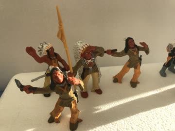 Cowboys & Indianer Set