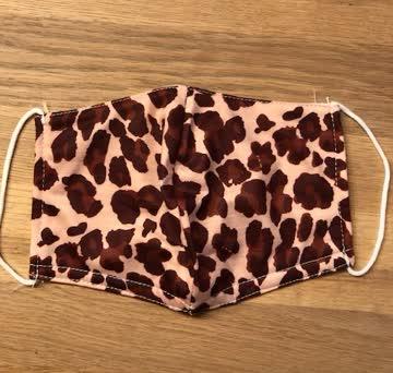 NEUE Stoffmaske Leopard