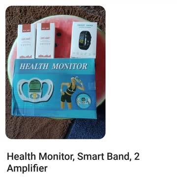 Health Monitor, 2 Amplifier, SmartBand