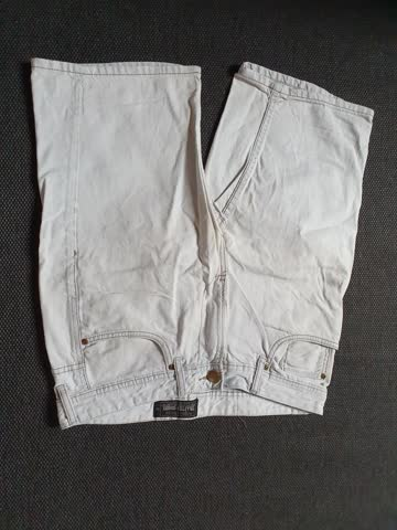 Jeans Shorts, Angelo Litrico, C&A (White/Weiss)