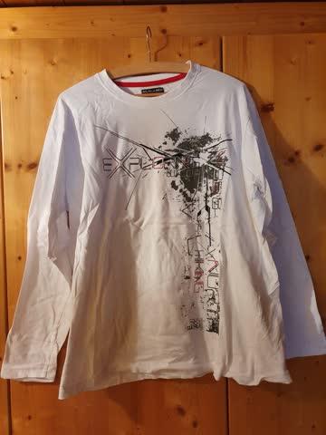 Sweatshirt, Weiss, Atlas for men