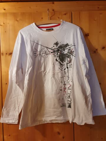 Sweatshirt, Weiss, Atlas for men