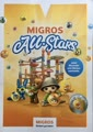 Migros All-Stars 32 Kleber = 1 volle Sammelkarte plus 12