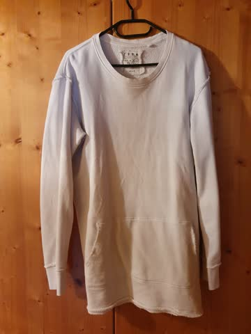 FSBN Long Fit Pullover, Weiss