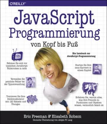 JavaScript-Programmierung von Kopf bis Fuß