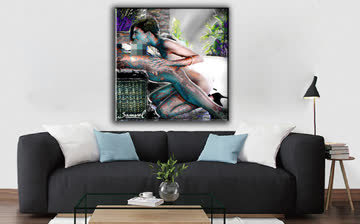Abstract Nude Art Oil Painting Print On Canvas Modern Wall