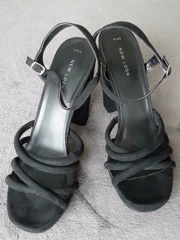 High Heels Sandalen Gr.42