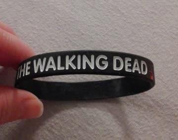 Armband aus Gummi von The Walking Dead
