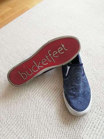 Bucketfeet Schuhe blau Gr.39