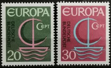 1966 Europamarken postfrisch** MiNr: 519 - 520