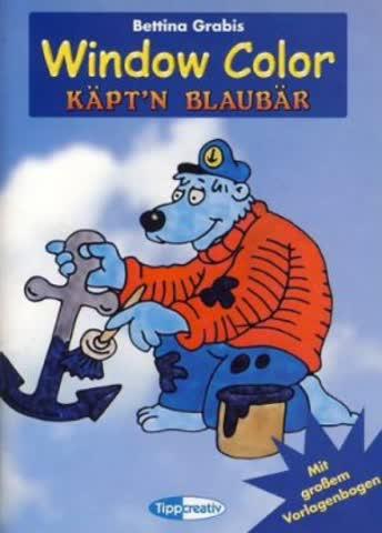 Window Color Käptn Blaubär