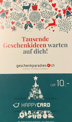 Geschenkparadies Gutschein (Kein Mindestbetrag)
