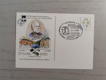 1996 16. Würzburger Briefmarken Börse