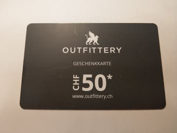 Outfittery Gutschein 50 CHF