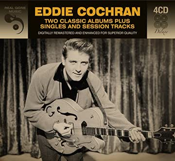 Eddie Cochran - 2 Classic Albums Plus Singles And Session Tracks