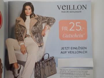 Gutschein Veillon Mode CHF 25.-