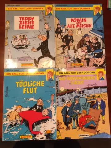 4 Jeff Jordan Comics