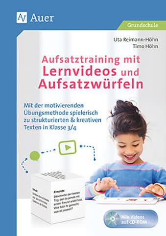 Aufsatztraining mit Lernvideos und Aufsatzwürfel