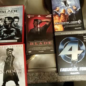Blade 1-3, Fantastic Four 1+2