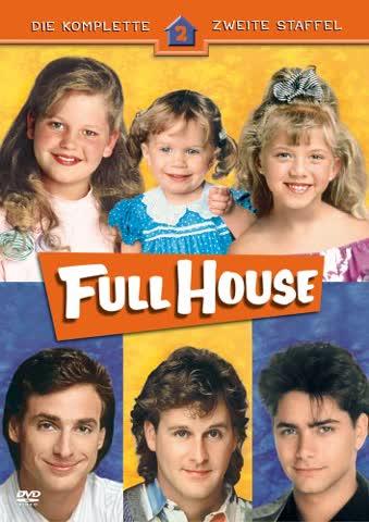 Full House - Die komplette zweite Staffel [4 DVDs]