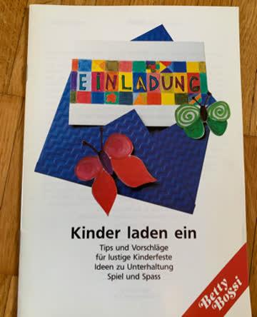 """Betty Bossi Broschüre """"Kinder laden ein"""""""
