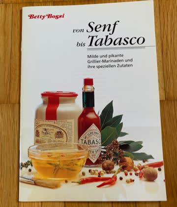 """Betty Bossi Broschüre """"von Senf bis Tabasco"""""""