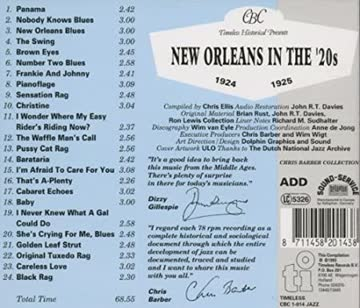 New Orleans in the '20s (CD)