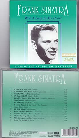 CD Frank Sinatra: With A Song in My Heart