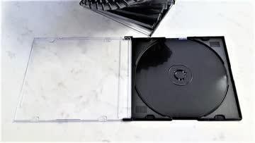 28 Leerhüllen (Slim-line) für CD, DVD