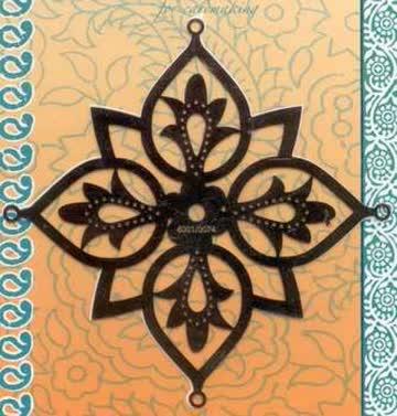 Stickschablone India Stern (6001.0074)
