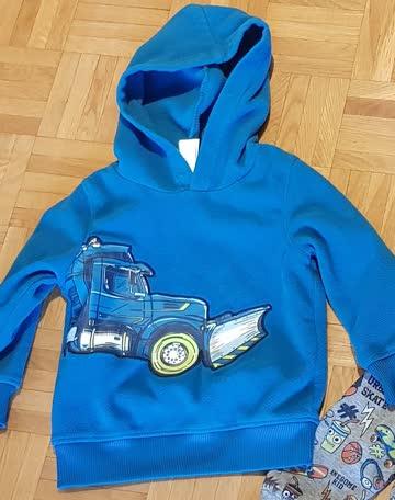 Pullover Blau,  Gr. 98