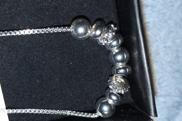 Kette und Armband mit Svarovski-Kristallen