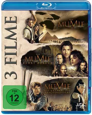 Die Mumie Trilogie (3 Filme/1 Disc)