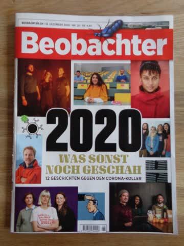 Beobachter Nr. 26 / 1. Dezember 2020 - 2020 Was sonst noch..