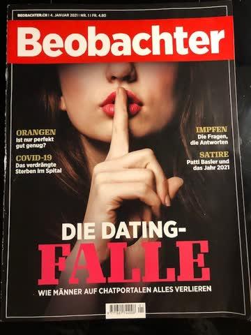 Beobachter Nr. 1 / 4. Januar 2021 Die Dating-Falle